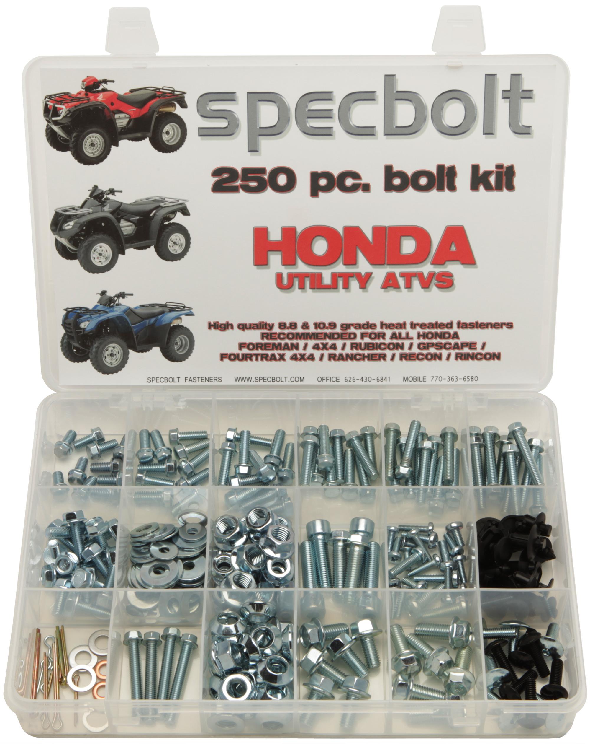 Honda Specbolt 1988 Trx 350 Foreman 250pc 4x4 Rubicon Gp Scape Rancher Rincon Fourtrax