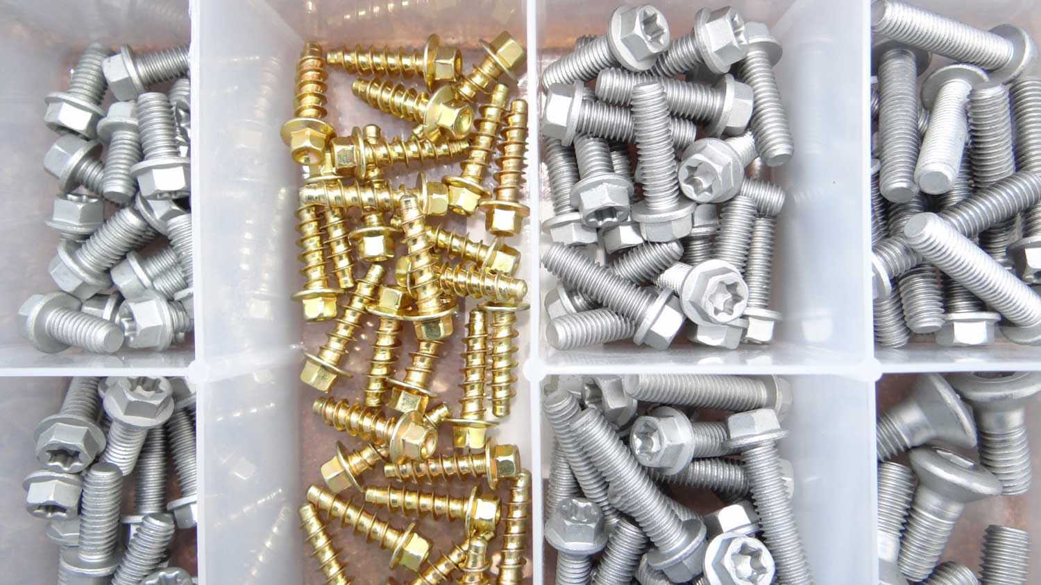 dacromet coated bolts