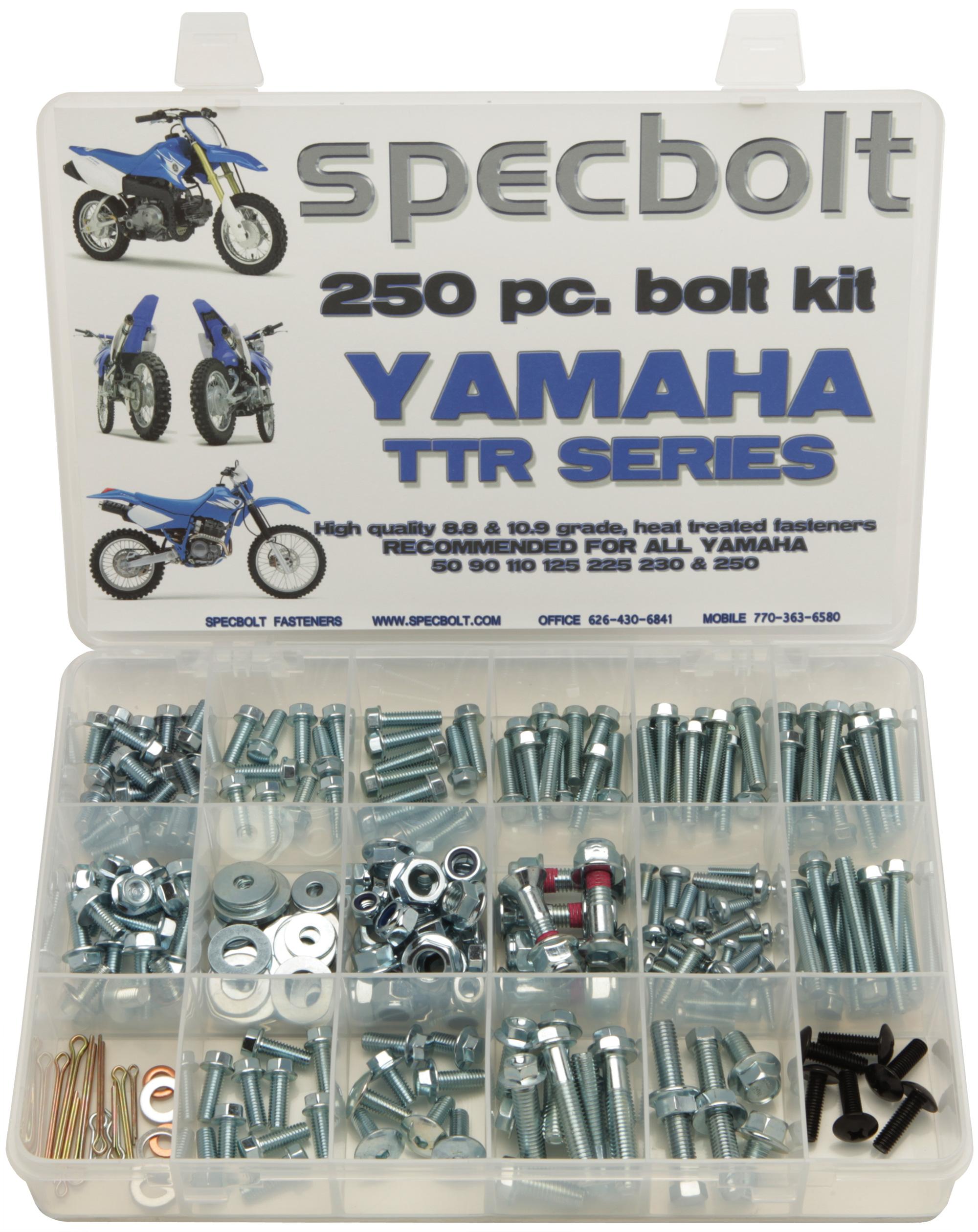 Yamaha Ttr Tt Xt Plastics And Bodywork Fastener Kit Specbolt