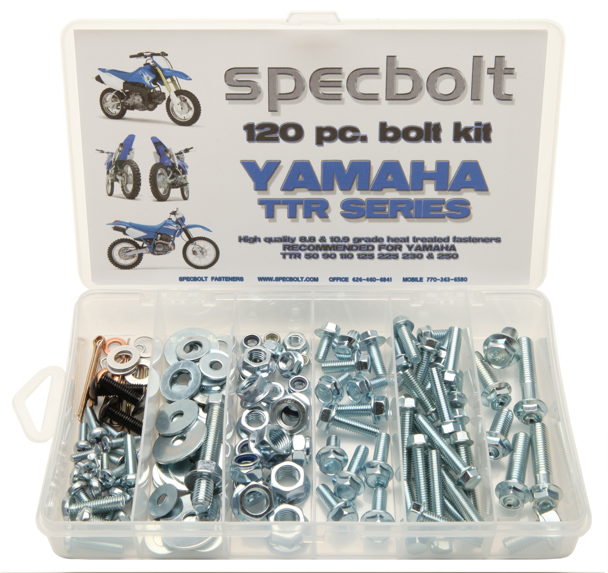 timeless design 81bac 35ea7 ... help you maintain and restore your TTR50 TTR90 TTR110 TTR125 TTR225  TTR230 and TTR250 using only the original type fasteners. Specbolt s OEM  style bolts ...