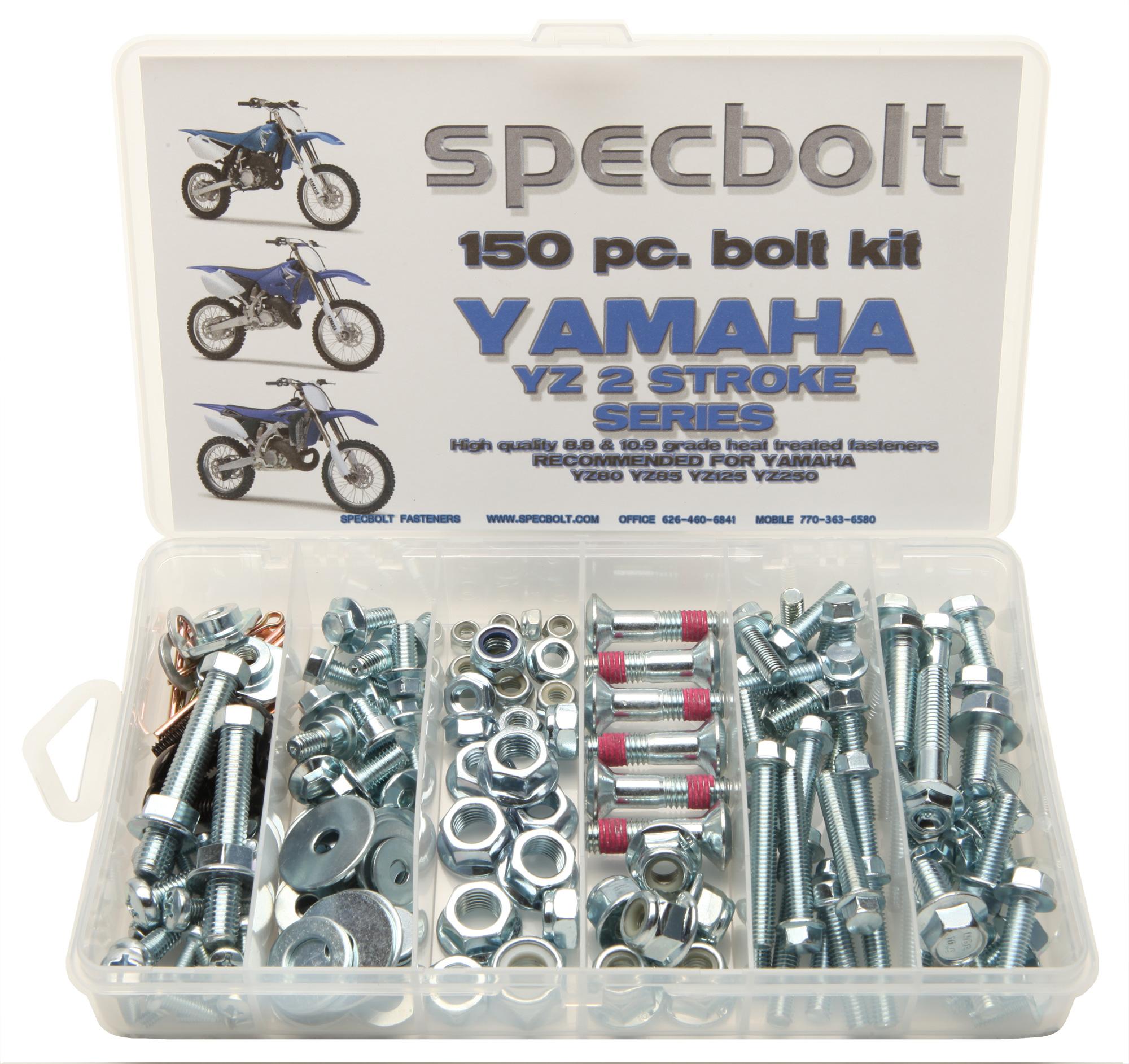 Yamaha YZ 85 85 125 250, Specbolt